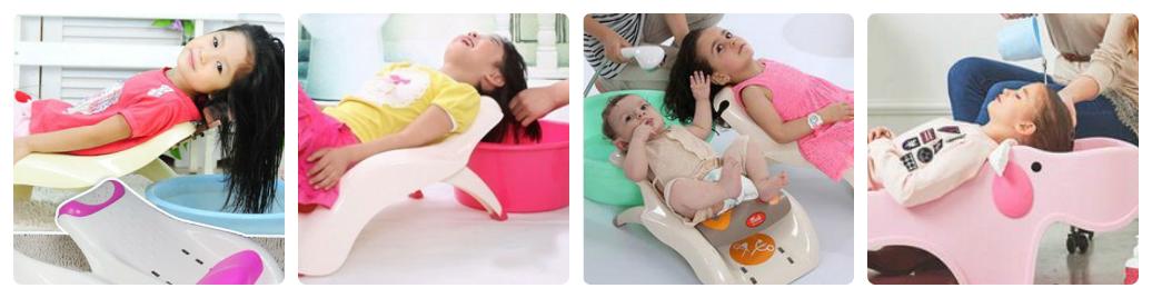 Có nên sử dụng ghế gội đầu cho bé không
