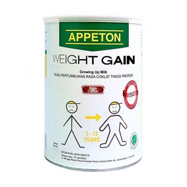 sữa tăng cân appeton