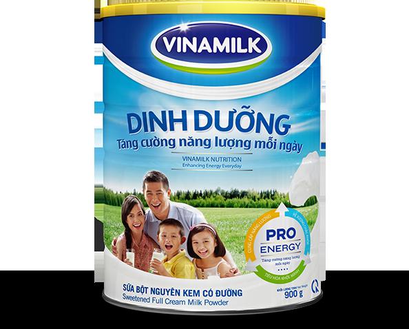 sữa tăng cân vinamilk
