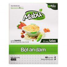 Bột ăn dặm cho bé 3 tuổi Mabu 400g