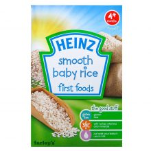 Bột ăn dặm gạo xay nhuyễn Heinz 100g