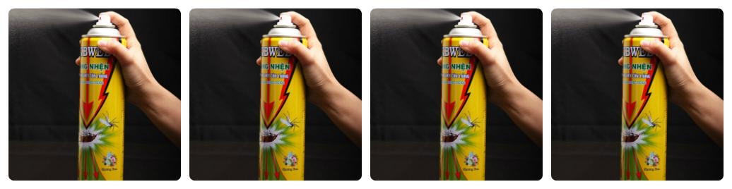 sử dụng bình xịt muỗi có độc không