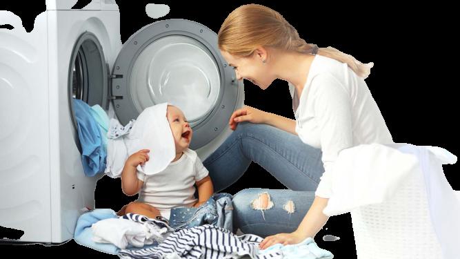 nước giặt cho bé là gì