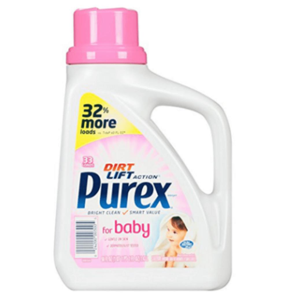 Nước giặt cho bé Purex