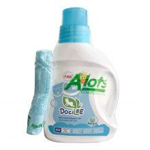 Nước giặt quần áo cho bé chính hãng 2in1 Docilee
