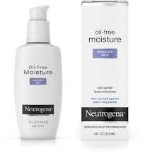 Kem dưỡng ẩm nhạy cảm Neutrogena Oil Free Moisture Sensitive Skin 118ml
