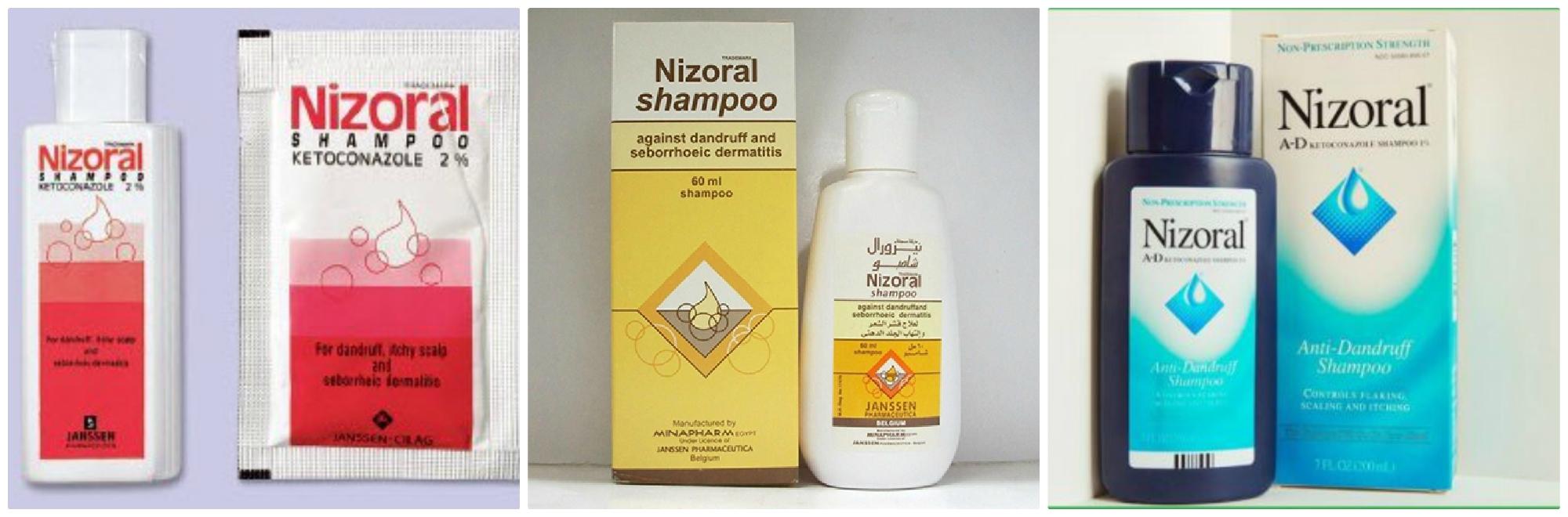 Có mấy loại dầu gội Nizoral hiện nay