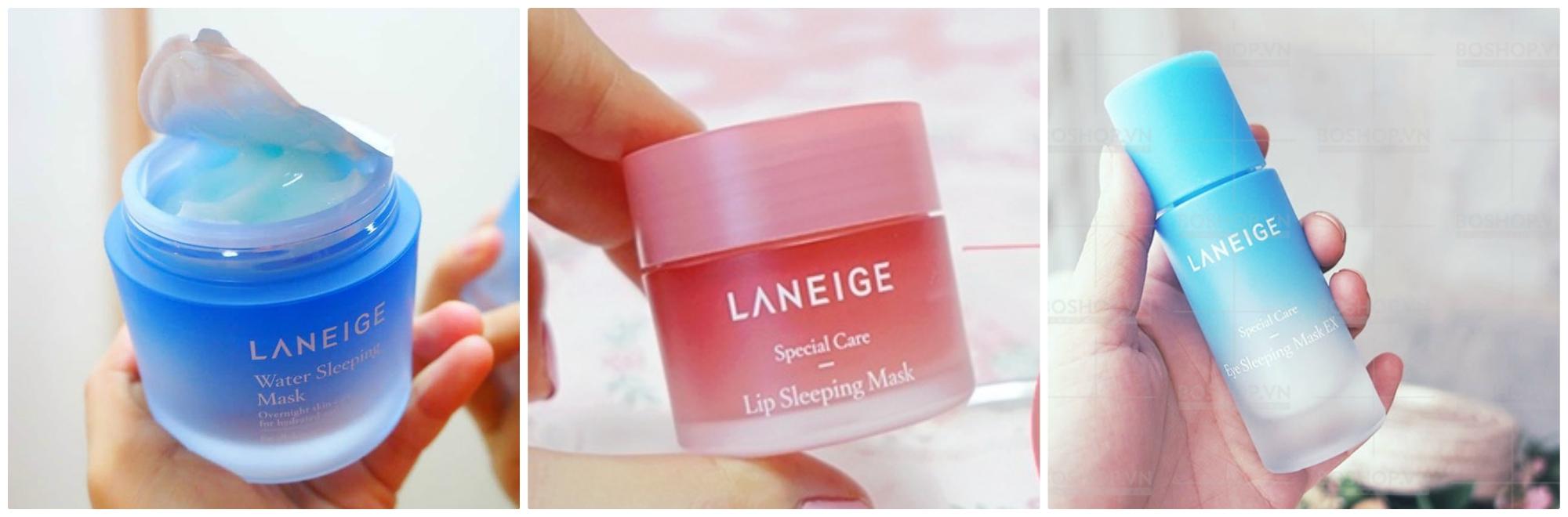 Phân loại mặt nạ ngủ Laneige hiện nay?