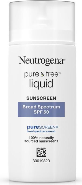 review kem chong nang neutrogena pure and free liquid