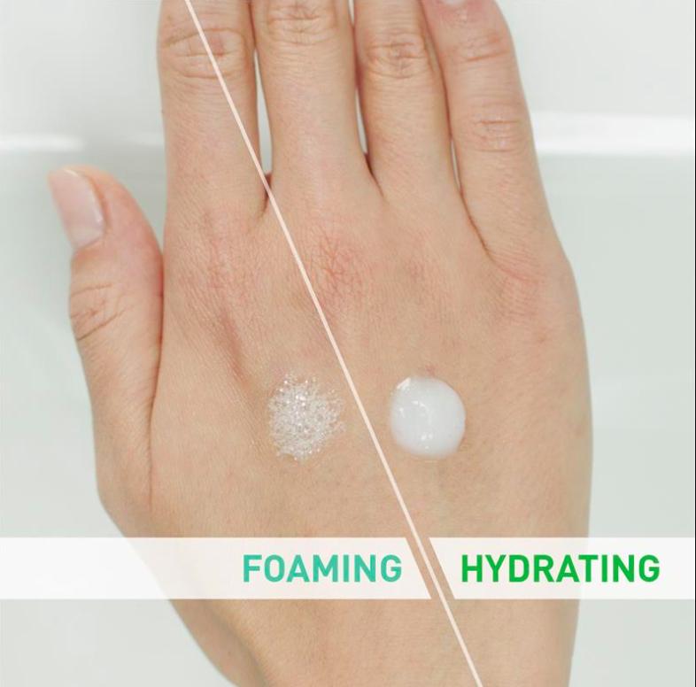 kết cấu và độ ph cerave foaming facial cleanser