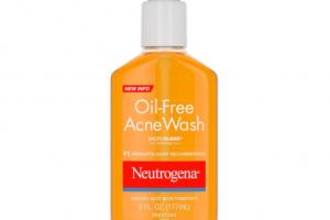 sua rua mat neutrogena oil free acne wash review