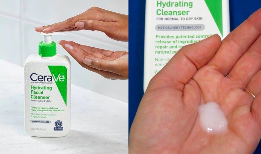 cảm nhận khi sử dụng cerave hydrating cleanser