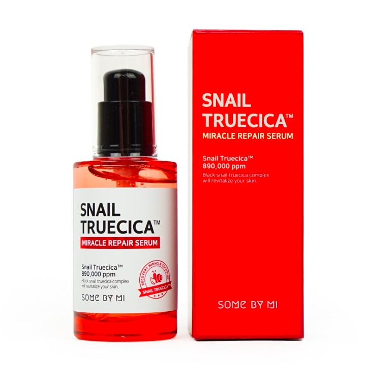 Giới thiệu Some By Mi Snail Truecica Miracle Repair Serum