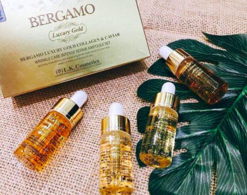 công dụng serum bergamo luxury gold