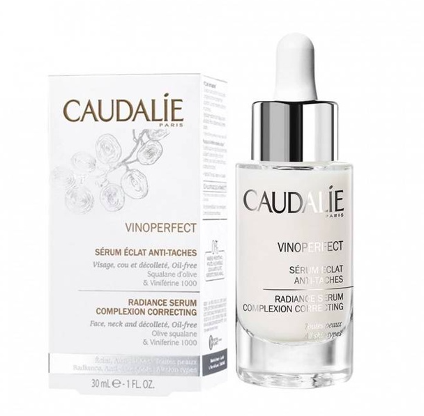 giới thiệu về caudalie vinoperfect radiance serum