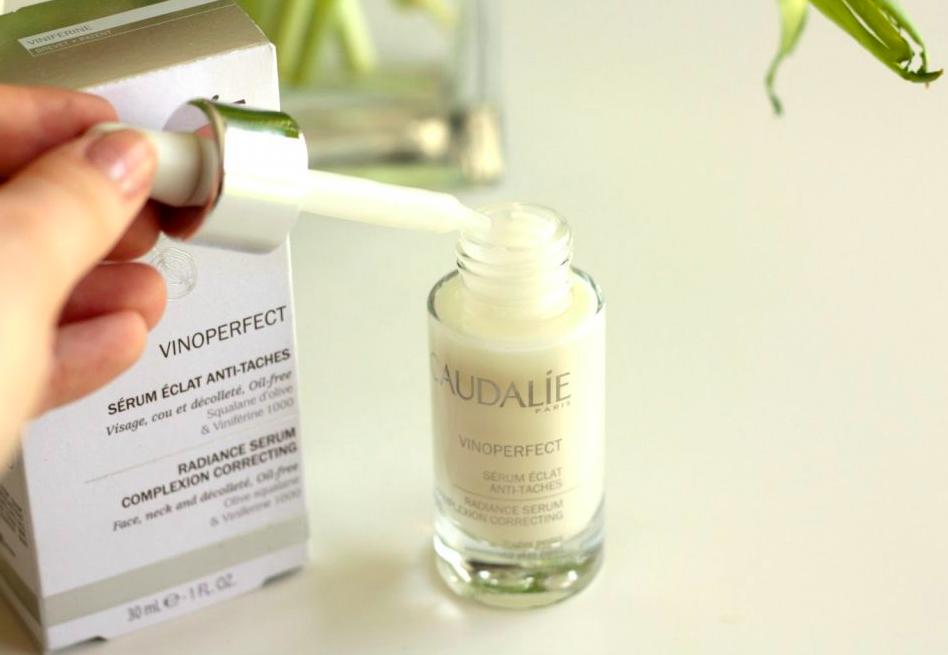 thành phần caudalie vinoperfect radiance serum