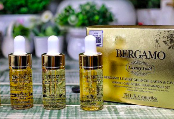 thành phần serum bergamo luxury gold