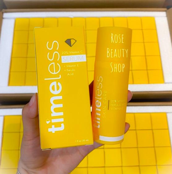 thiết kế timeless 20 vitamin c