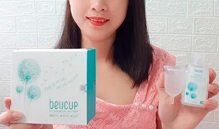 cảm nhận khi sử dụng cốc nguyệt san beucup?