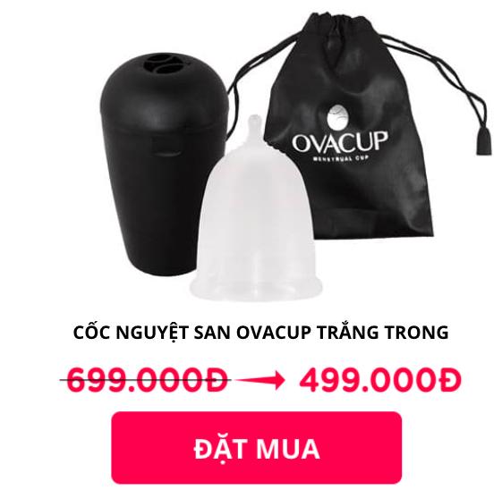 cốc nguyệt san ovacup giá bao nhiêu