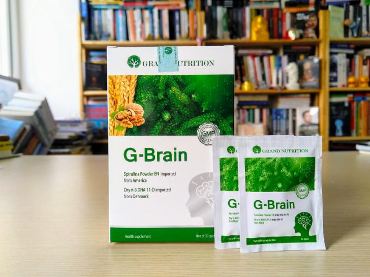 thông tin tổng quan về cốm trí não g-brain