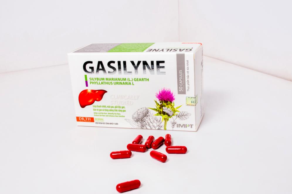 cảm nhận khi sử dụng bổ gan gasilyne