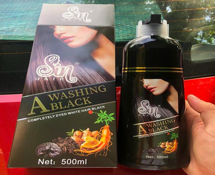 cảm nhận khi dùng dầu gội phủ bạc sin hair