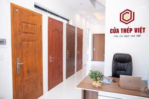 Nhiều ưu đãi lắp đặt cửa thép vân gỗ Hà nội dịp cuối năm
