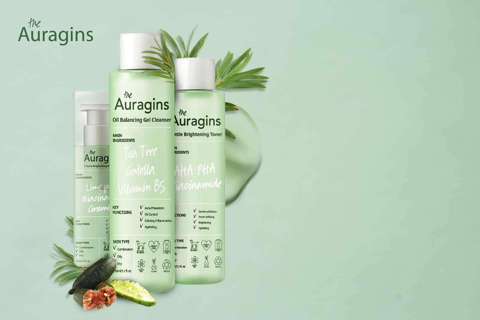 Giới thiệu về thương hiệu mỹ phẩm The Auragins