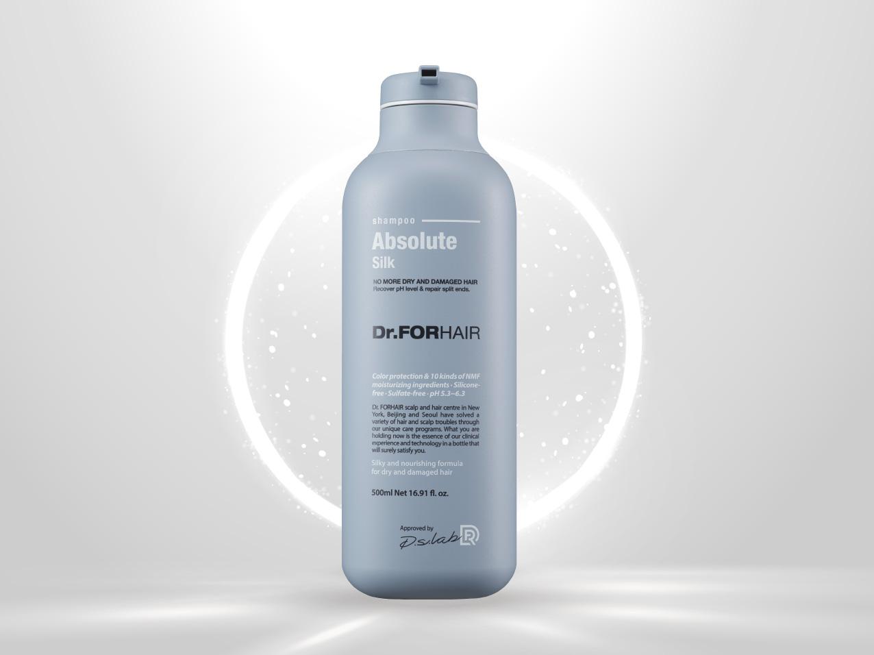 Dầu xả nuôi dưỡng và chăm sóc tóc khô và hư tổn Dr. FORHAIR ABSOLUTE SILK TREATMENT