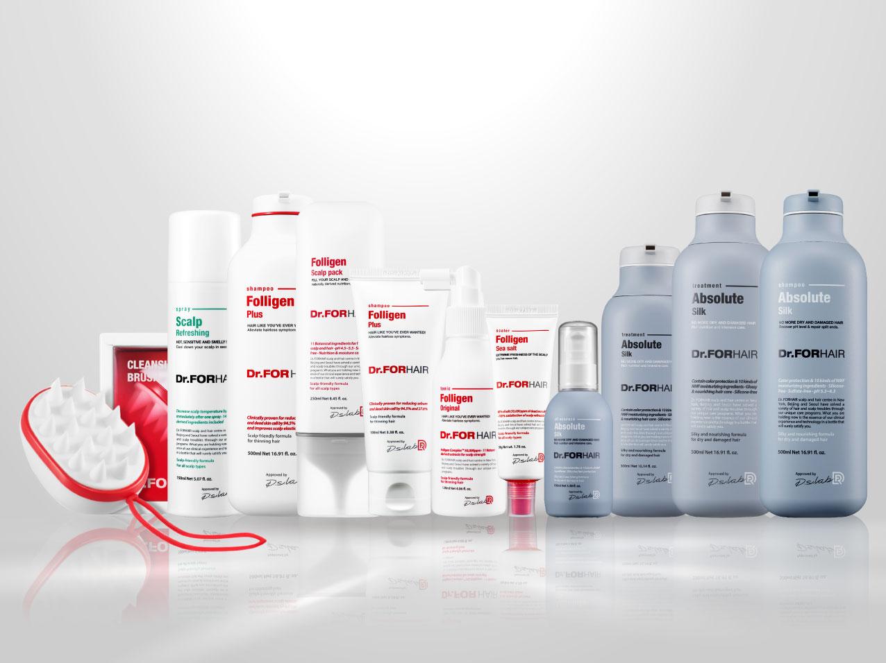 Dr.FORHAIR thương hiệu chăm sóc tóc chuyên sâu Top 1 Hàn Quốc