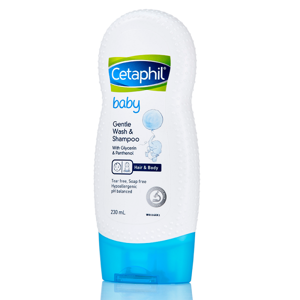 Sữa tắm Cetaphil Baby Gentle Wash & Shampoo