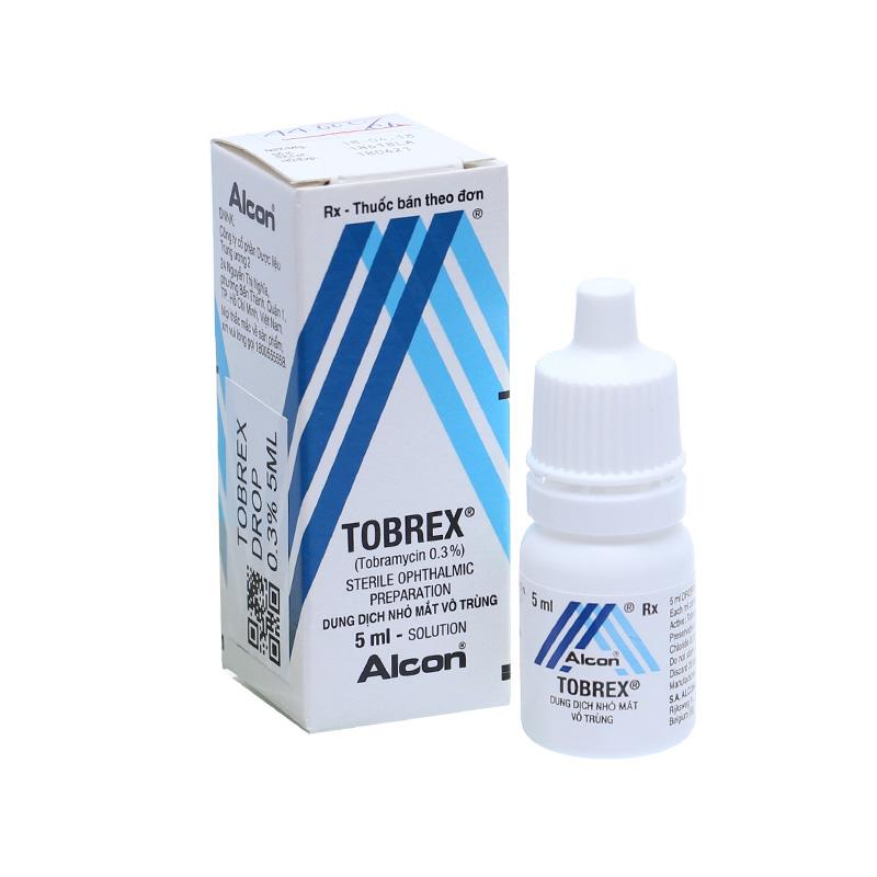 Thuốc nhỏ mắt chính hãng Tobrex