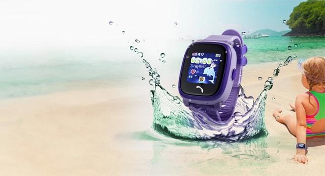 Cần kiểm tra đồng hồ định vị cho trẻ có khả năng chống nước đạt tiêu chuẩn nào