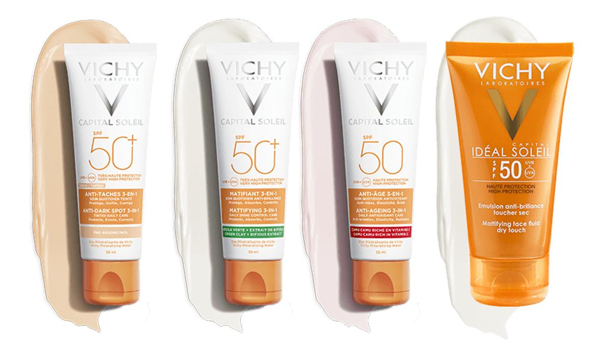 Chọn kem chống nắng Vichy theo từng loại da