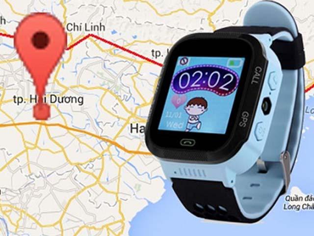 Đồng hồ GPS cho trẻ em giúp bố mẹ xác định chính xác vị trí của trẻ đang ở đâu