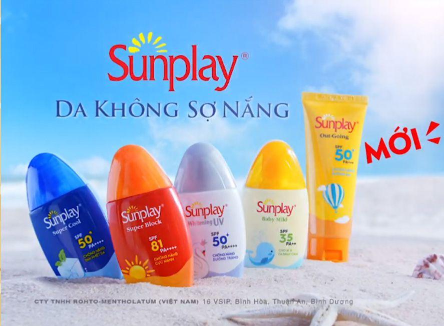 Phân loại kem chống nắng Sunplay hiện nay?