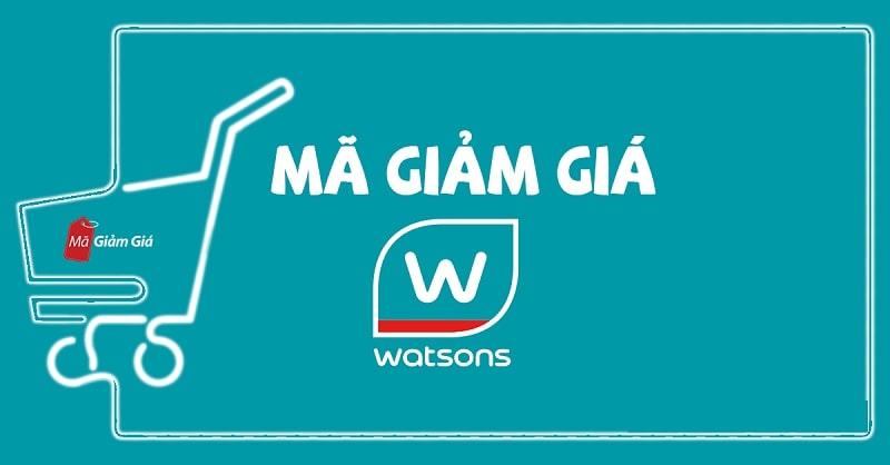 Mua hàng trực tiếp tại Watsons có được áp dụng mã ưu đãi không?