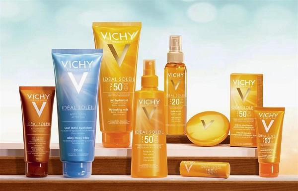 Phân loại kem chống nắng Vichy