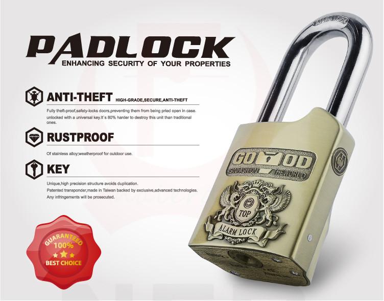 Ổ khóa báo động Hãng Good padlock