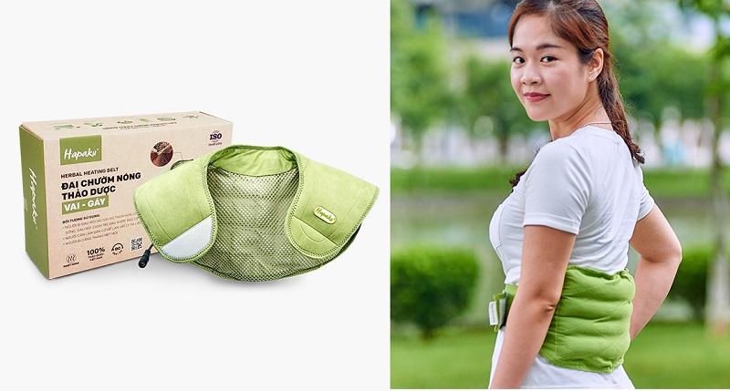 Ai có thể sử dụng sản phẩm đai, túi chườm thảo dược HAPAKU?