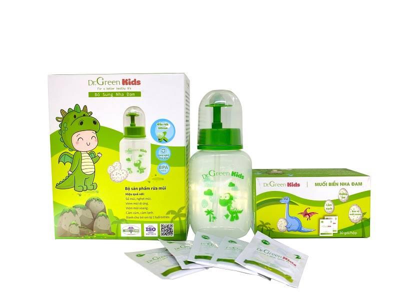 Bình rửa mũi Dr Green – Sản phẩm được các mẹ bỉm sữa ưa chuộng