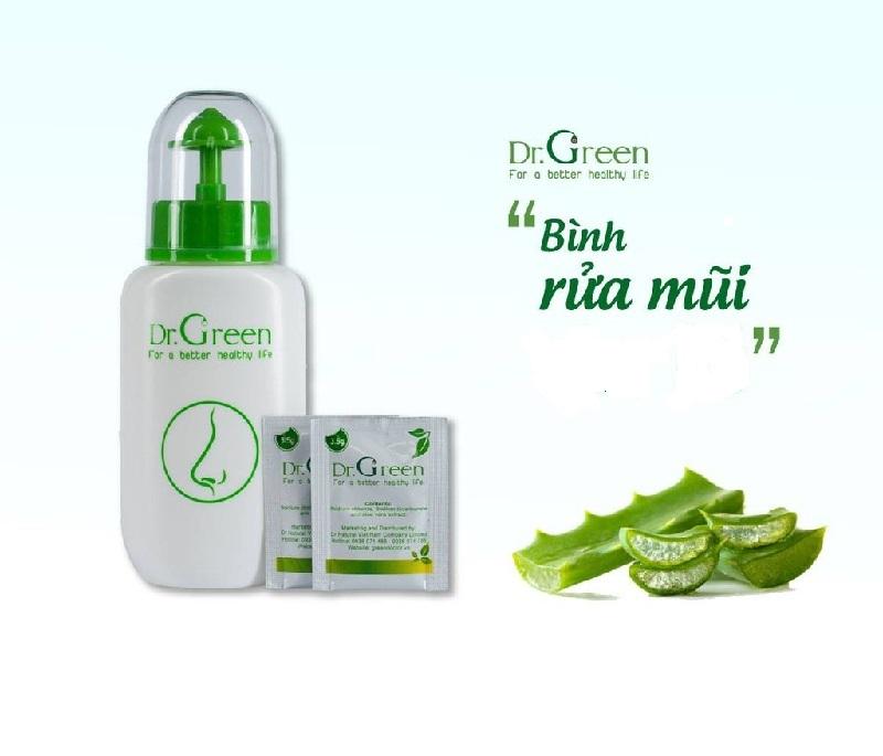 Bình rửa mũi Dr Green an toàn cho bà bầu