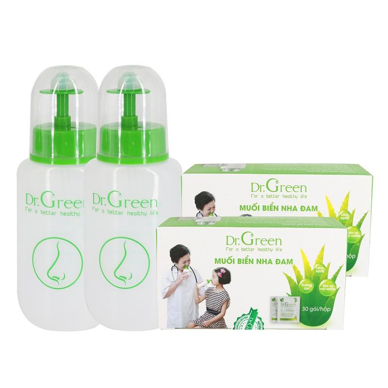 Bình xịt rửa mũi Dr Green mang đến cho người dùng nhiều công dụng tuyệt vời