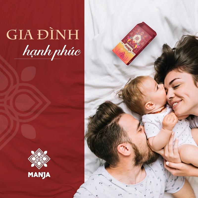 Bột tắm phong thủy Manja là bí quyết giúp gia đạo yên ấm, tình duyên bền chặt