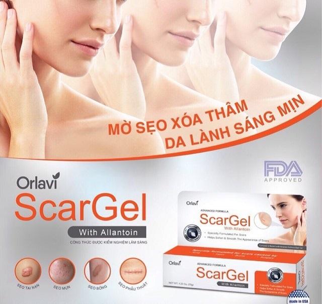 Các loại sẹo đều có thể sử dụng kem Orlavi