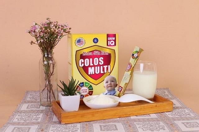 Cách pha Mama sữa non Colos Multi thông thường