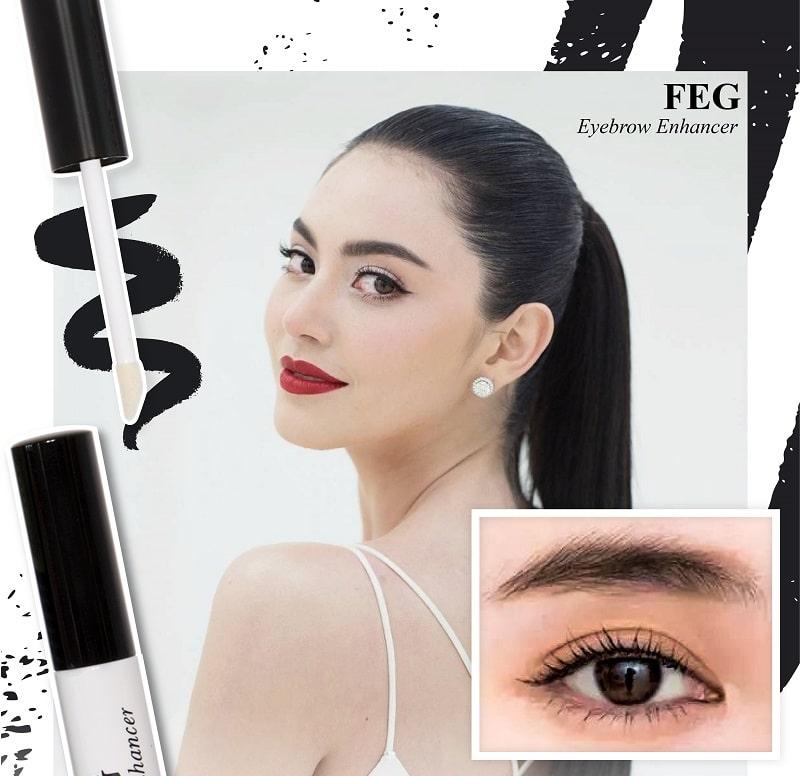 Cách phân biệt hàng thật giả FEG Eyebrow trên thị trường