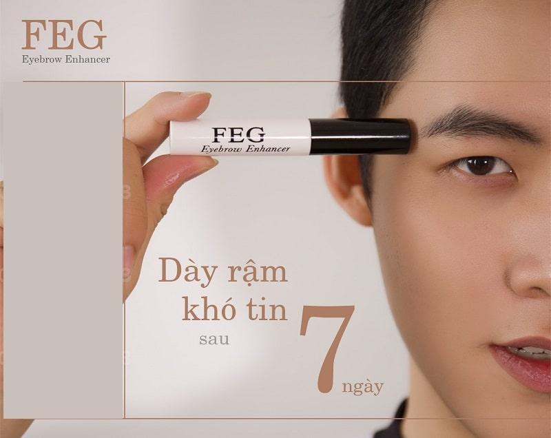 Cách sử dụng dòng sản phẩm dưỡng mày FEG Eyebrow đúng chuẩn