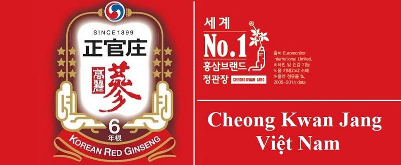 Cao Hồng Sâm Cheong Kwan Jang được chứng nhận chất lượng bởi các cơ quan thẩm quyền